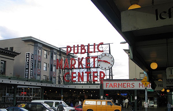 Pike Place Market photo for Seattle Commercial Real Estate post regarding the commercial growth of the Pike/Pine Corridor