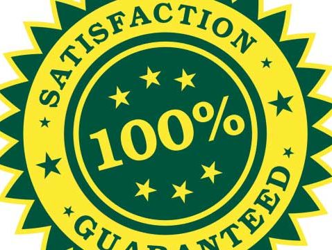Seal of 100% Satisfaction, for the Guarantees in Commercial Real Estate post